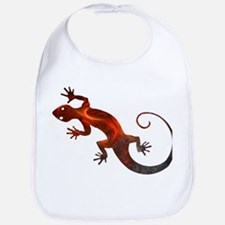Fire Red Gecko Bib
