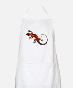 Fire Red Gecko Apron