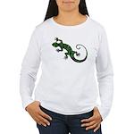 Ivy Green Gecko Women's Long Sleeve T-Shirt
