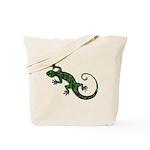 Ivy Green Gecko Tote Bag