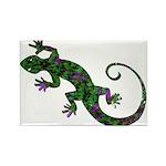 Ivy Green Gecko Rectangle Magnet