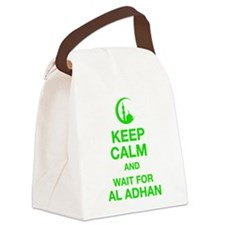 KEEP CALM AND WAIT FOR AL ADHAN Canvas Lunch Bag