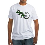 Ivy Green Gecko Fitted T-Shirt
