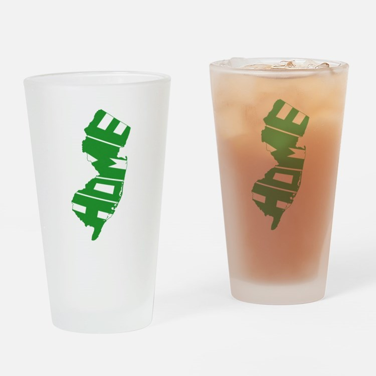 New Jersey Home Drinking Glass
