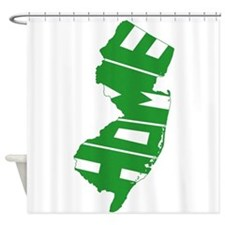 New Jersey Home Shower Curtain