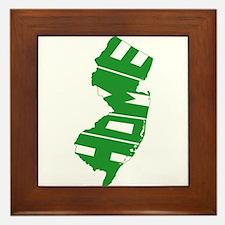 New Jersey Home Framed Tile