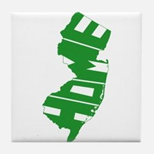 New Jersey Home Tile Coaster