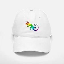Rainbow Gecko Baseball Baseball Cap