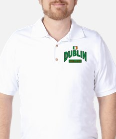 Dublin Ireland Golf Shirt