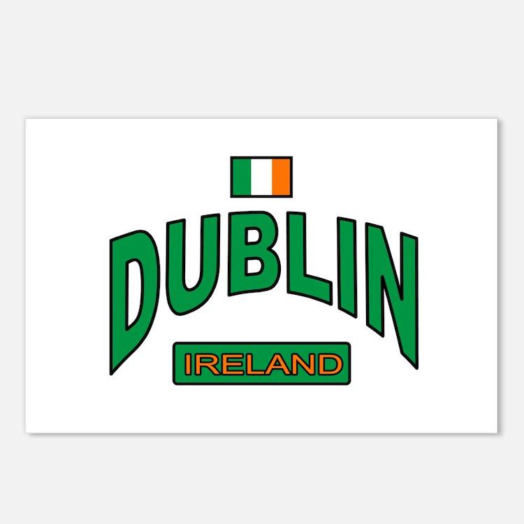 Dublin Ireland Postcards (Package of 8)