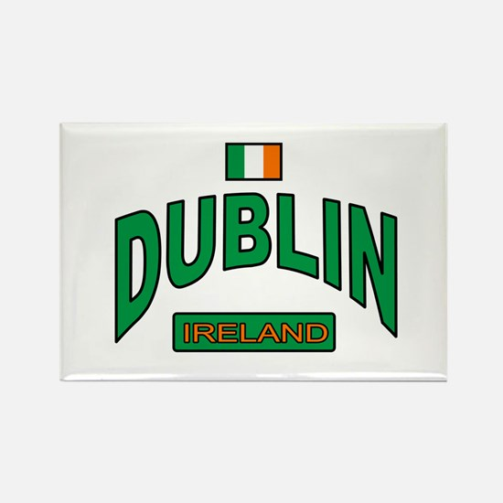 Dublin Ireland Rectangle Magnet