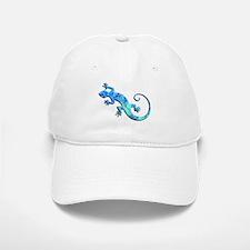 Malachite Blue Gecko Baseball Baseball Cap