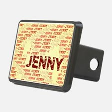 Made of words name JENNY Hitch Cover
