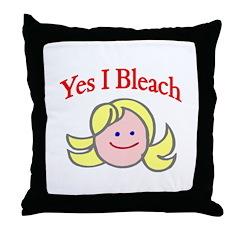 Bleach Throw Pillow