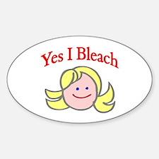 Bleach Oval Decal