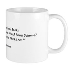 Madoff Ponzi Cooked Books Mug Mugs