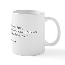 Madoff Ponzi Cooked Books Mug Mugs