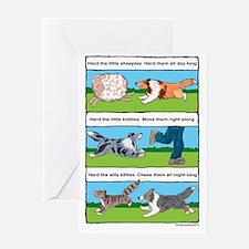 Herd Sheepies Greeting Cards