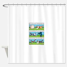 Herd Sheepies Shower Curtain