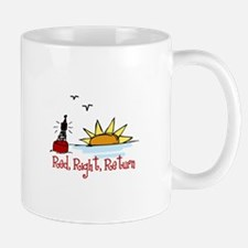 Red Right Mugs
