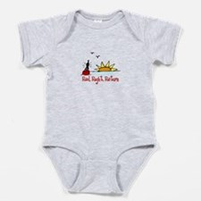 Red Right Baby Bodysuit