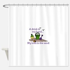 In The Sand Shower Curtain