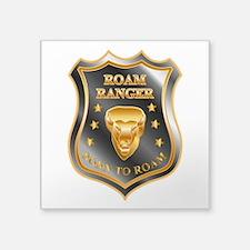 Born To Roam Roam Ranger Bison Head Sticker