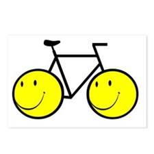 Happy Bike Postcards (Package of 8)