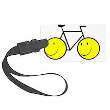 Happy Bike Luggage Tag