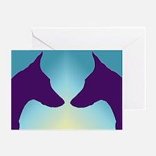 Sunrise Doberman Greeting Cards (Pk of 10)
