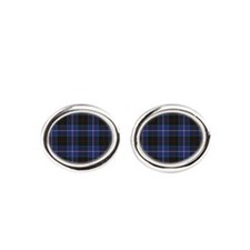Tartan - Dunlop Oval Cufflinks