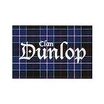 Tartan - Dunlop Rectangle Magnet (100 pack)