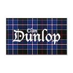 Tartan - Dunlop 20x12 Wall Decal