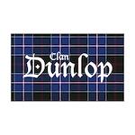 Tartan - Dunlop 35x21 Wall Decal