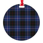 Tartan - Dunlop Round Ornament