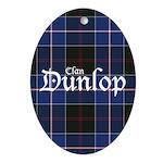 Tartan - Dunlop Ornament (Oval)