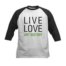 Live Love Art History Tee