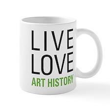 Live Love Art History Mug