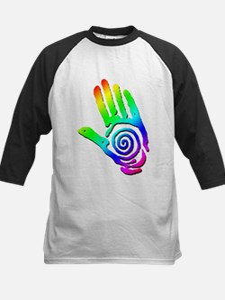 Rainbow Petroglyph Hand Tee