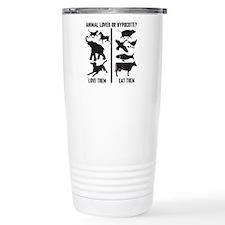 Animal Lover or Hypocri Travel Mug