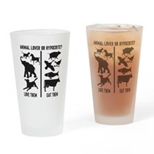 Animal Lover or Hypocrite? Drinking Glass