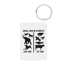 Animal Lover or Hypocrite? Keychains