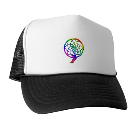 Rainbow Dreamcatcher Trucker Hat