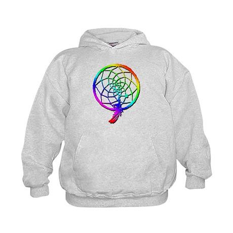 Rainbow Dreamcatcher Kids Hoodie