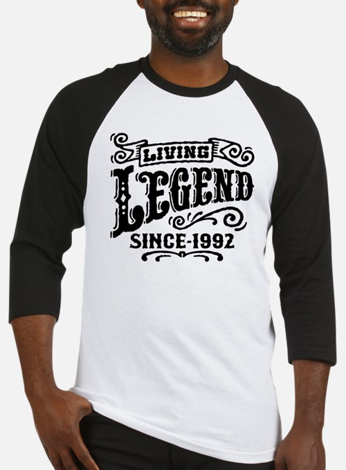 Living Legend Since 1992 Baseball Jersey