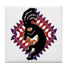 Southwest Kokopelli Tile Coaster