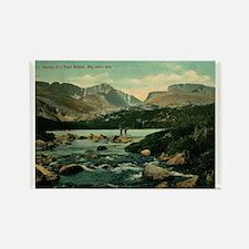 Big Horn Mountains Rectangle Magnet