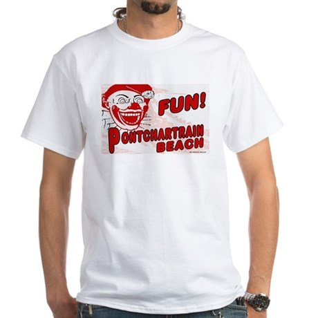 Pontchartrain Beach White T-shirt