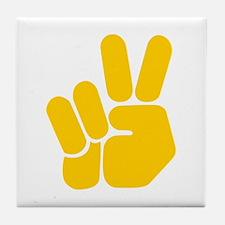 Peace It Out! Tile Coaster