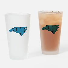 North Carolina Home Drinking Glass